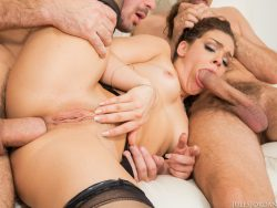 Kimber Woods in Caught in a DP 06